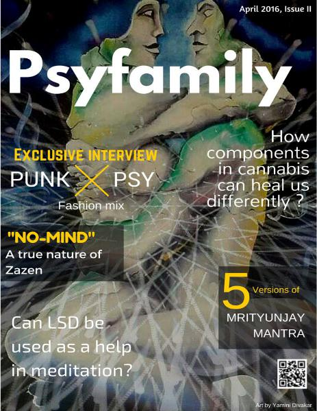 Psyfamily magazine April 2016
