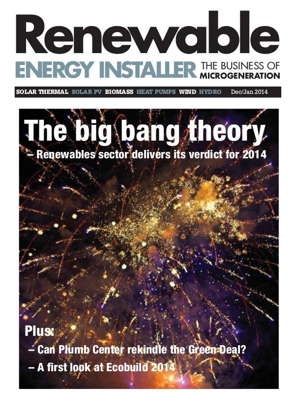 Renewable Energy Installer December/January 2014