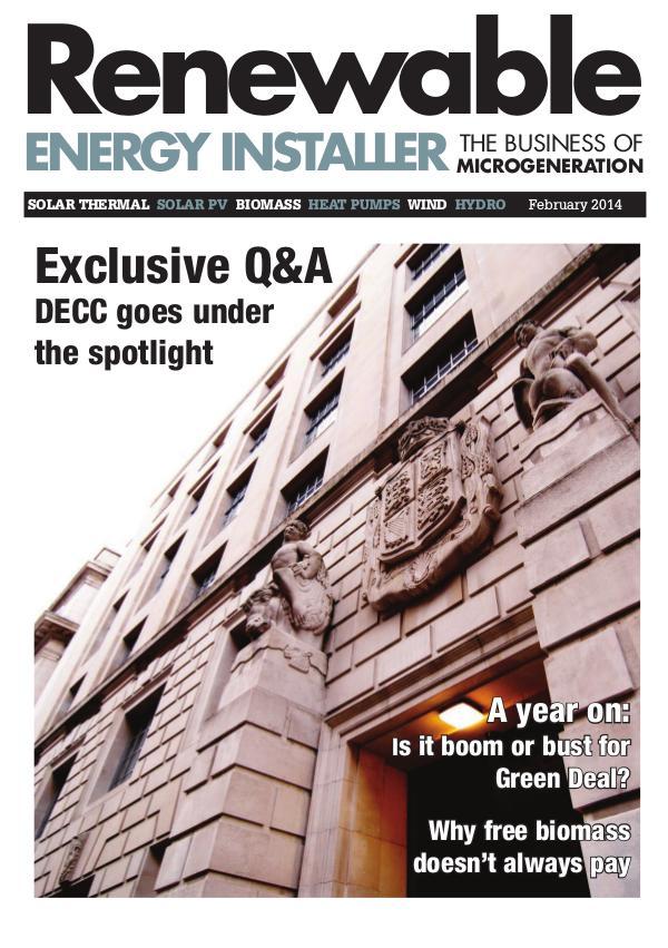 Renewable Energy Installer February 2014