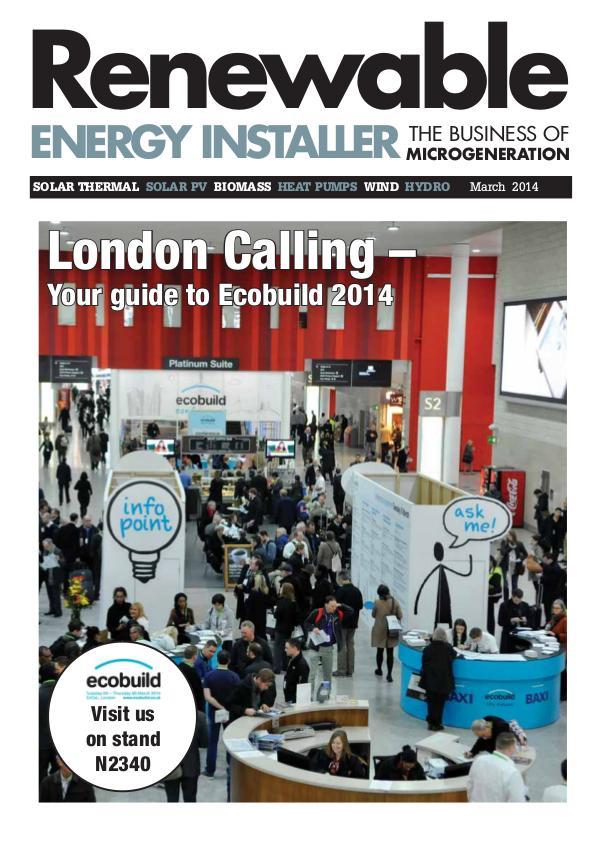 Renewable Energy Installer March 2014