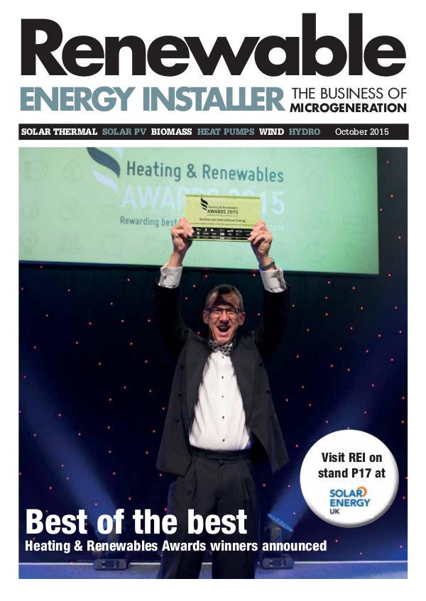 Renewable Energy Installer October 2015