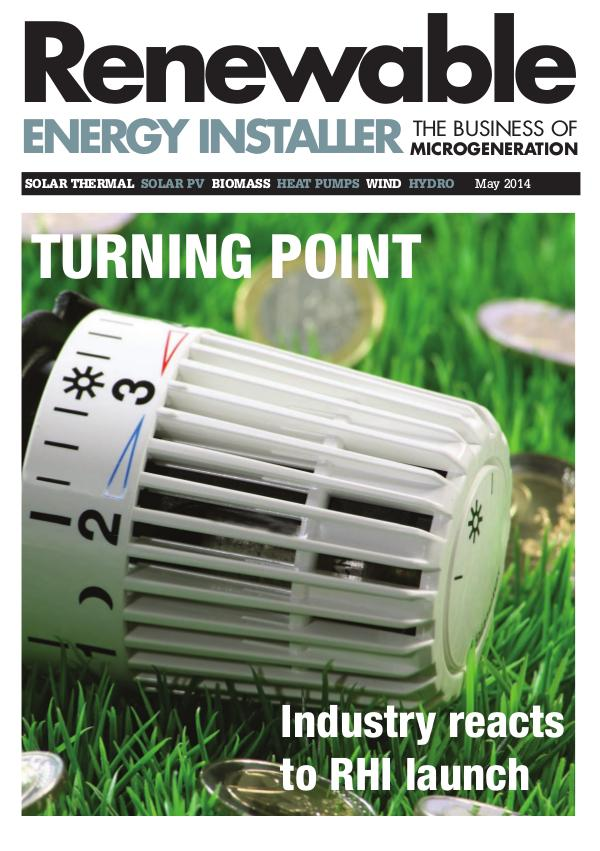 Renewable Energy Installer May 2014