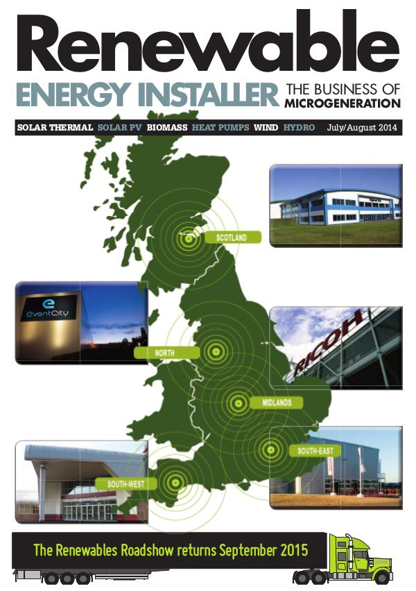 Renewable Energy Installer July/August 2014