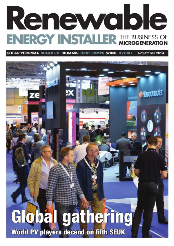 Renewable Energy Installer November 2014