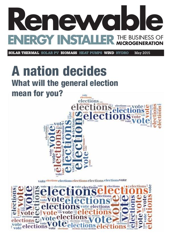 Renewable Energy Installer May 2015