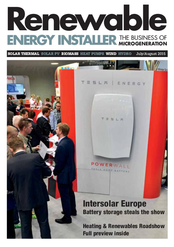 Renewable Energy Installer July/August 2015