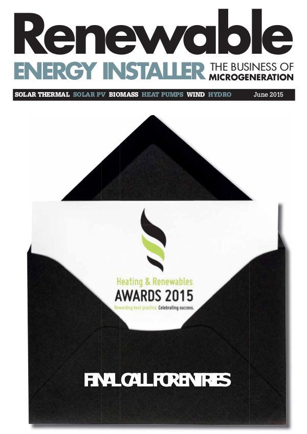 Renewable Energy Installer June 2015