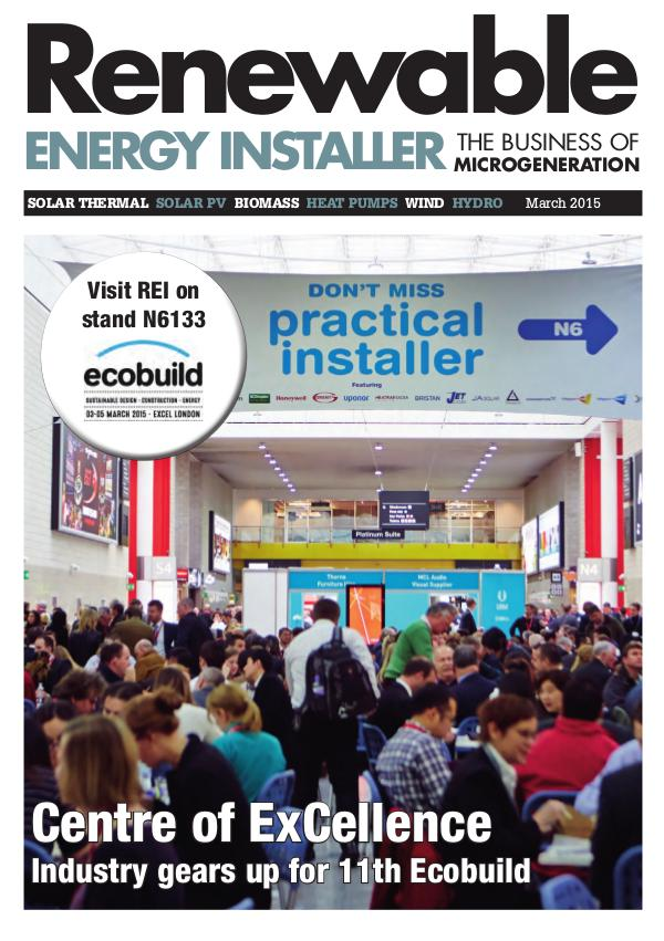 Renewable Energy Installer March 2015