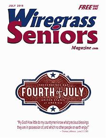 Wiregrass Seniors Magazine July 2018