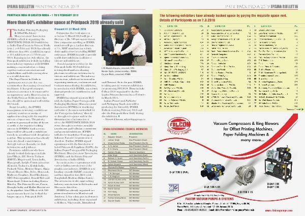 eMagazine - 1st Bulletin IPAMA bulletin-emagazine - Page 4