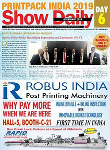 Printpack India 2019 Show Daily - 6th day