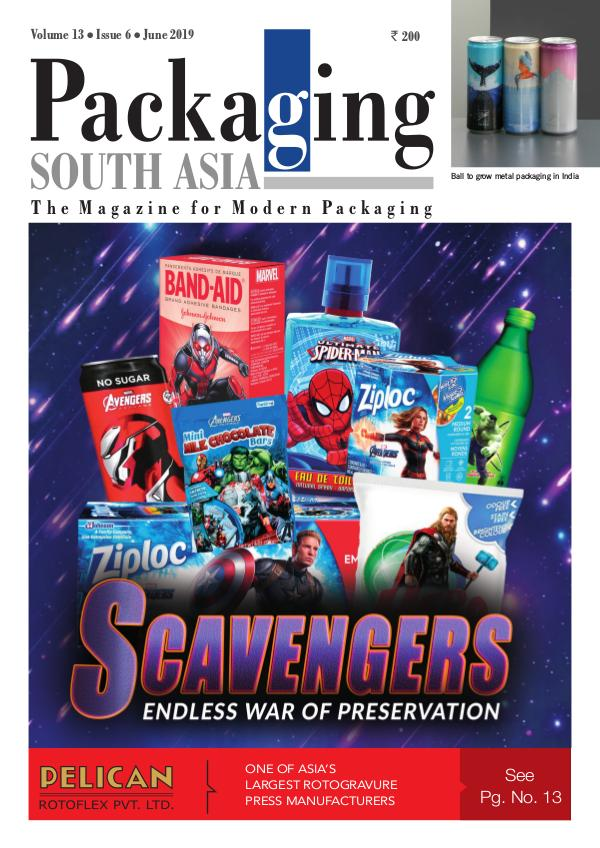 Packaging South Asia - June 2019 issue PSA June 2019 issue eMagazine