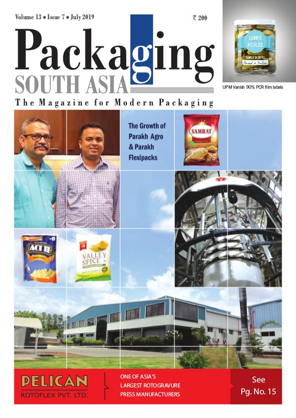 Packaging South Asia - JULY 2019 - eMagazine PSA JULY 2019 issue