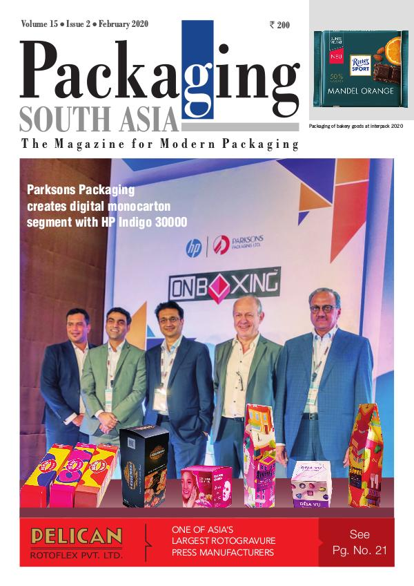 Packaging South Asia -  February 2020 eMagazine Packaging South Asia - Feb2020