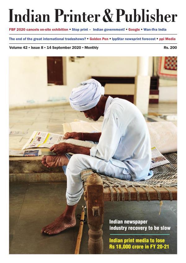Indian Printer & Publisher - September 2020 issue September 2020