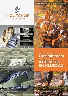 Houtshop folder - Herfst 2017