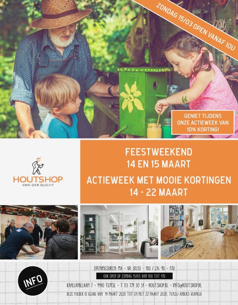 Houtshop magazine - Lente 2020 Onze Plandagen in het vizier
