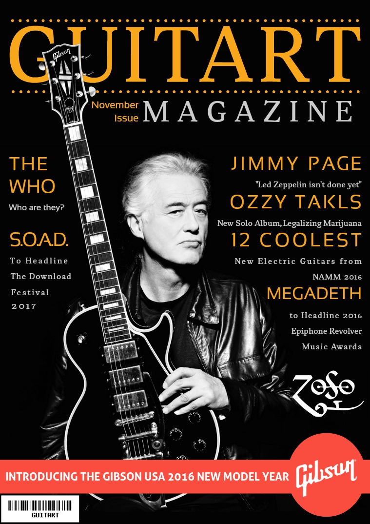 GuitarT Magazine November Issue