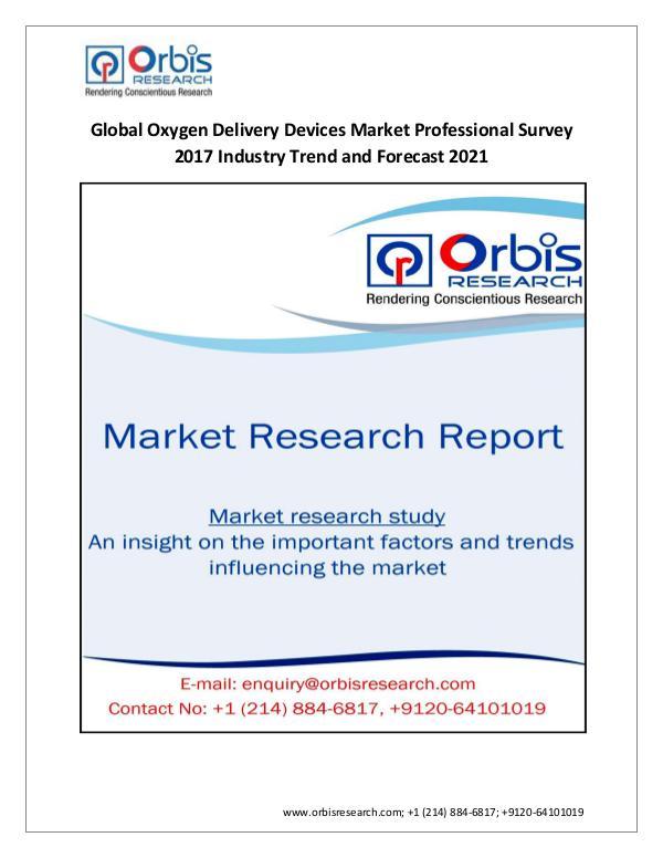 Global Oxygen Delivery Devices Industry Profession