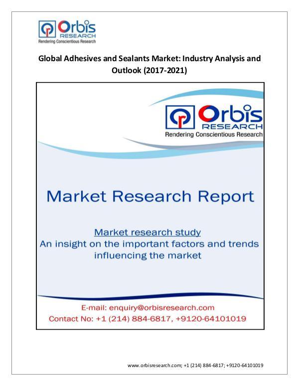 Share Analysis of Global  Adhesives and Sealants M