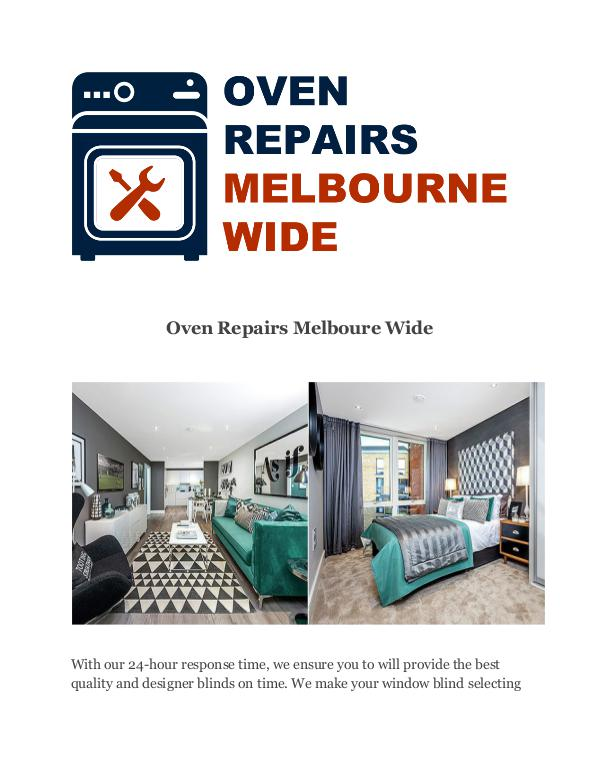 Oven Repairs Melboure Wide Oven Repairs Melboure Wide