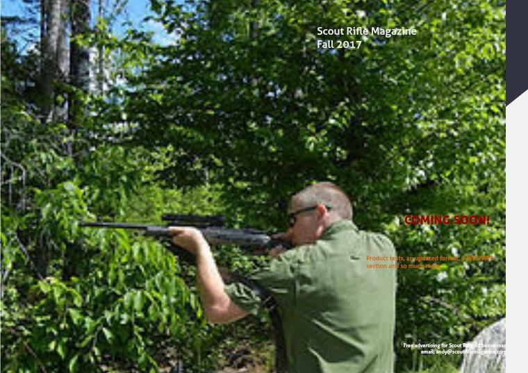 Scout Rifle Magazine Fall 2017