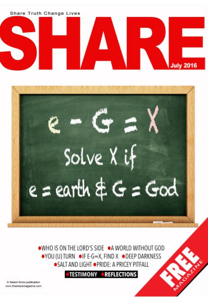 SHARE Magazine July 2016