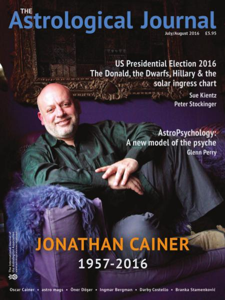 The Astrological Journal July-August 2016