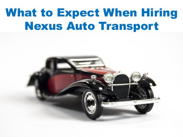 What to Expect When Hiring Nexus Auto Transport 1
