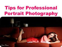 Tips for Professional Portrait Photography