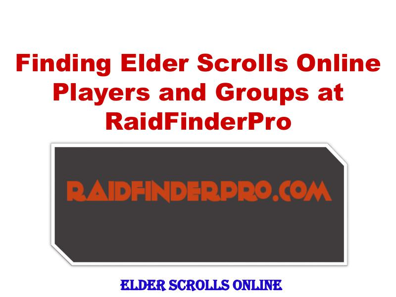 Finding Elder Scrolls Online Players and Groups 1