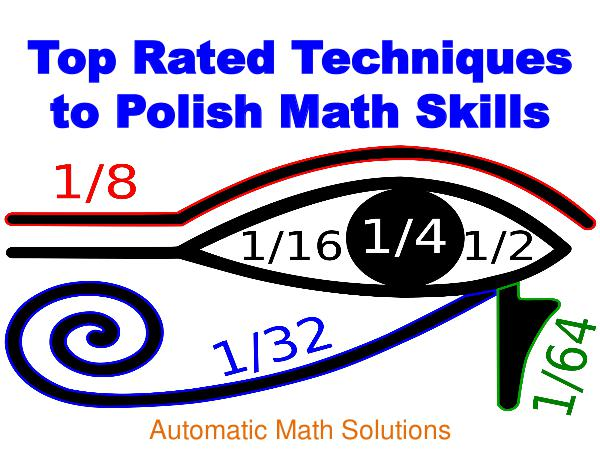 Top Rated Techniques to Polish Math Skills 1