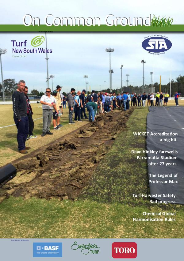 STA NSW On Common Ground Dec 2016 Issue 48