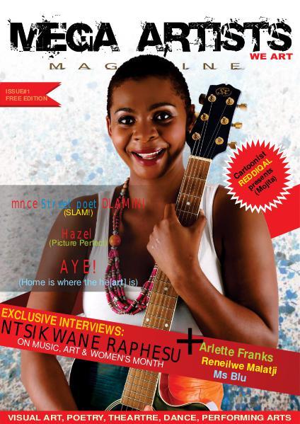 Mega Artists Magazine 1
