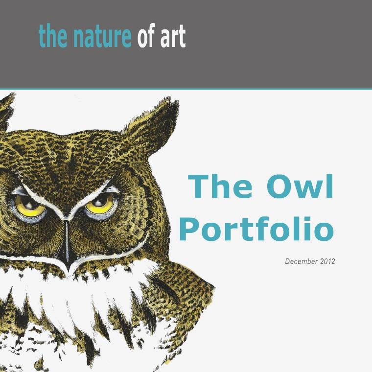 The Nature of ART - OWLS The Nature of Art - OWLS by Art MacKay