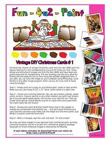 Art's DIY Vintage Christmas Cards 4-U-2 Color