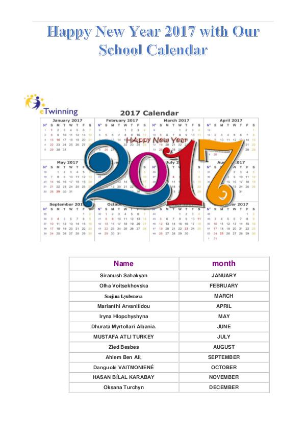 Monthly Calendar Prepared by Partners. Monthly Calendar Prepared by Partners.
