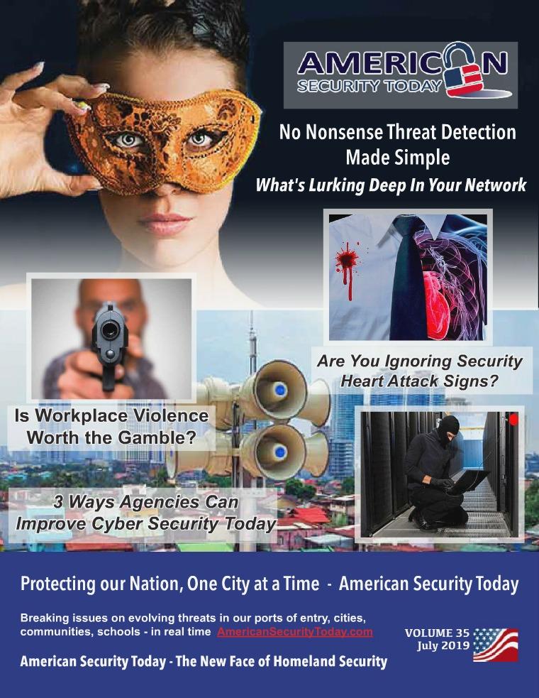 July 2019 AST Magazine AST July 2019 Magazine