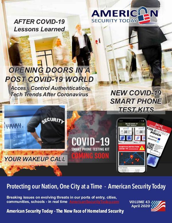 AST April 2020 Magazine AST Apr 2020