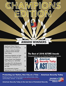 American Security Today's 2016 CHAMPIONS EDITION Digital Magazine