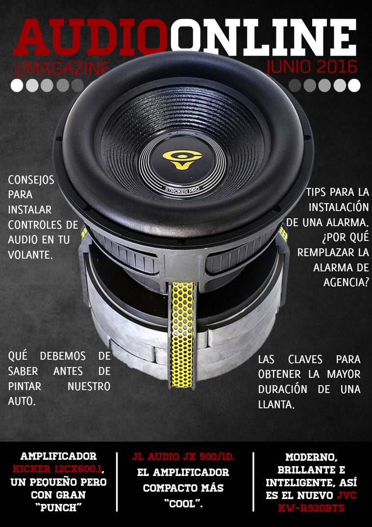 Revista Car Audio Audioonline Junio 2016