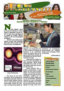 Jornal ECOESTUDANTIL, maio 2016