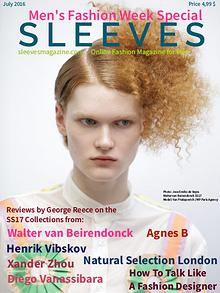 Sleeves Magazine Men's Fashion Week Special