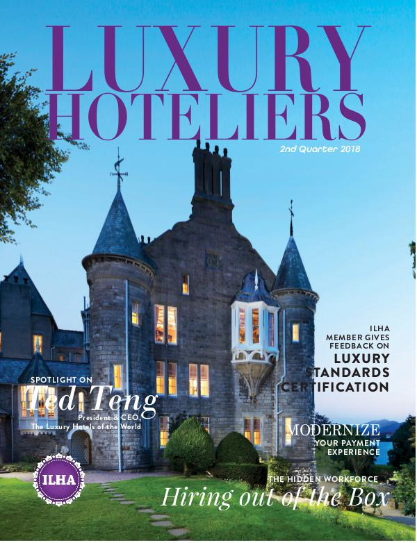 Luxury Hoteliers Magazine 3rd Quarter 2018