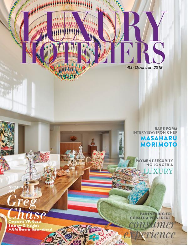 Luxury Hoteliers Magazine 4th Quarter 2018