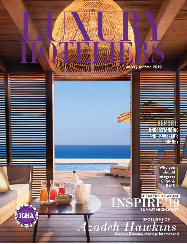 Luxury Hoteliers Magazine 4th Quarter 2019