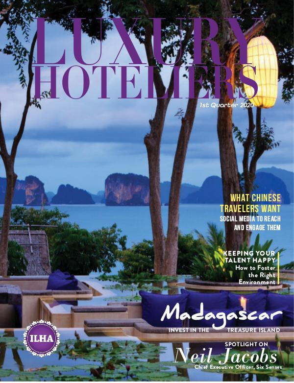 Luxury Hoteliers Magazine 1st Quarter 2020