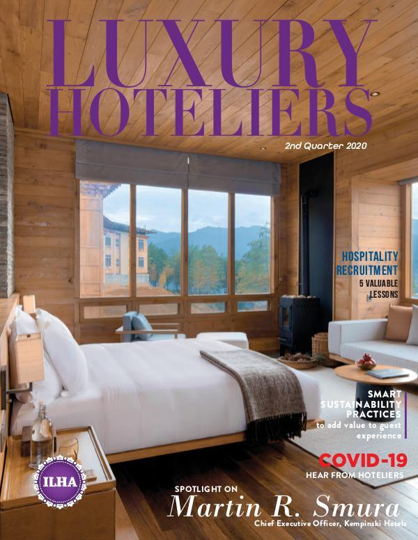 Luxury Hoteliers Magazine 2nd Quarter 2020