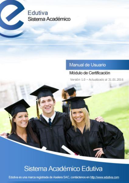 Manual de Certificación Enero 2016