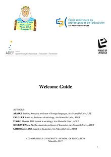 Welcome Guide by the University of Aix-Marseille, France